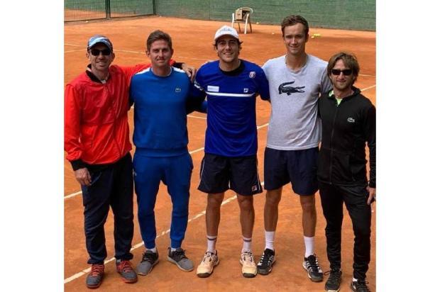 Marcelo Demoliner está nas quartas de final do Masters 1000 em Madri Divulgação /