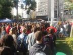 No centro de Caxias do Sul, estudantes se mobilizam contra corte de verbas da educação Marcelo Passarella / agência RBS/agência RBS