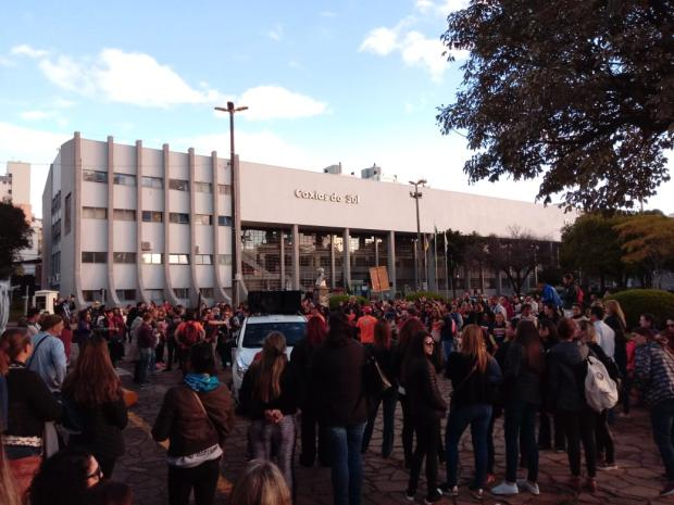 Professores e servidores aderem à paralisação nacional pela educação em Caxias Aline Ecker  / Divulgação /Divulgação