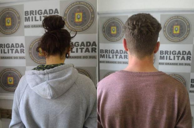 BM recupera carga de piso laminado avaliada em R$ 18 mil, em Farroupilha Brigada Militar / Divulgação/Divulgação