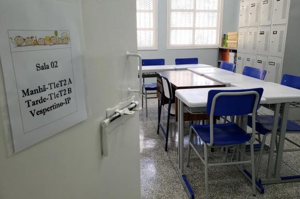 O Case de Caxias tem uma escola nova em folha Lizie Antonello/Agência RBS