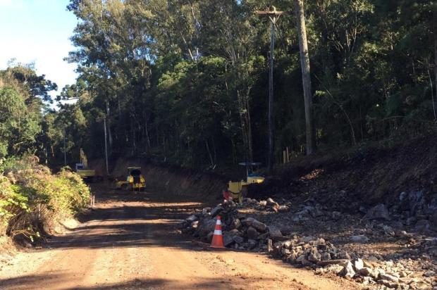 Estrada dos Romeiros, em Caxias, terá pavimento provisório para a Romaria de Caravaggio André Fiedler/Agência RBS