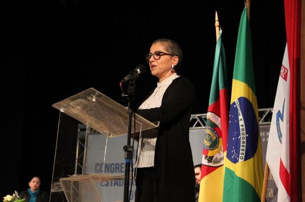 Em Bento, secretária estadual da Cultura anuncia lançamento de prêmio no valor de R$ 200 mil José Estefanon / Divulgação/Divulgação