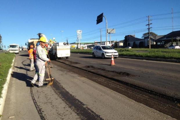 Novos buracos ampliam em R$ 170 mil o custo de conserto de estradas estaduais em Farroupilha André Fiedler/Agência RBS