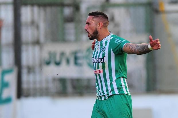 Braian Rodríguez valoriza bom início de jogo do Juventude contra o Boa Esporte Porthus Junior/Agencia RBS