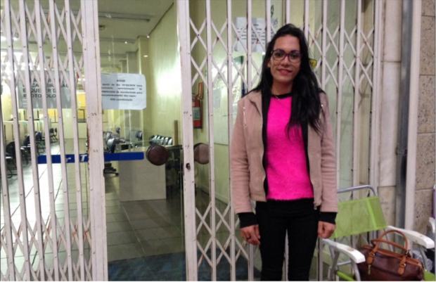 Primeira candidata a chegar na fila do Sine, em Caxias, é encaminhada para entrevista de emprego André Fiedler / Agência RBS/Agência RBS