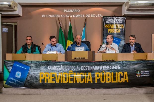Comissão da Previdência da Assembleia Legislativa promove audiência segunda-feira, em Caxias Willian Schumacher/Divulgação