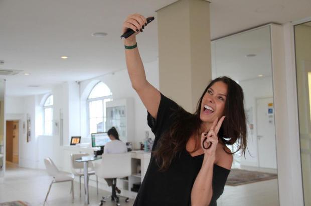 Adriane Galisteu participa de programa de emagrecimento na Serra Ana Luísa Sost/Divulgação