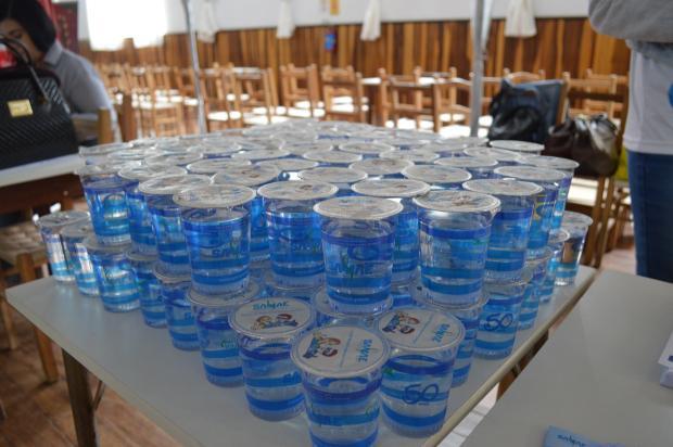 Samae pede que romeiros levem garrafas para consumo de água durante trajeto até Caravaggio Divulgação Samae/