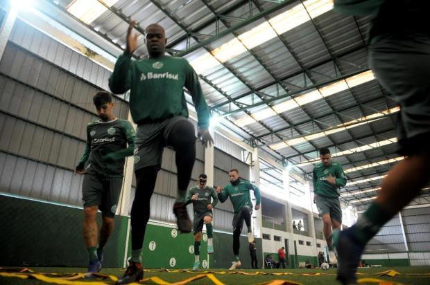 Gramado e desgaste são os adversários do Juventude diante do São José-PoA Lucas Amorelli/Agencia RBS