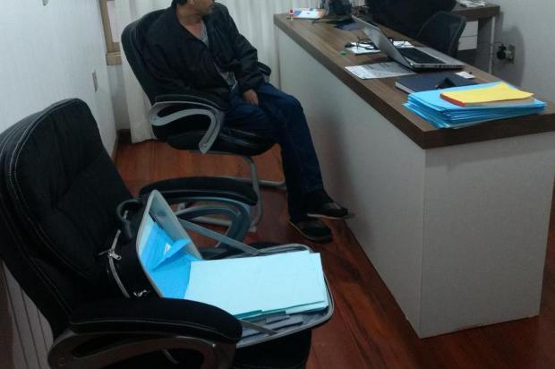 Empresário que não pagava funcionários é preso com documentos falsos em Vacaria Polícia Civil/Divulgação