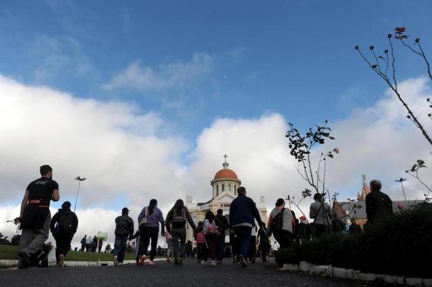 FOTOS: confira imagens da romaria ao Santuário de Caravaggio Lucas Amorelli/Agencia RBS
