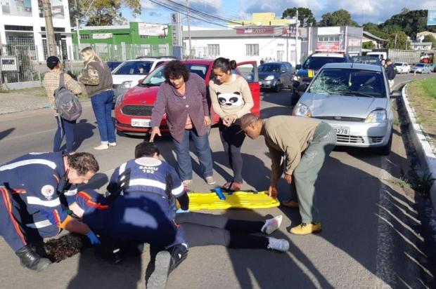 Caxias registrou três acidentes com feridos na BR-116 neste sábado PRF Caxias/Divulgação