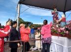 Mais de 50 mil pessoas já passaram pelo Santuário de Caravaggio, em Farroupilha, neste domingo Milena Schäfer/Agência RBS