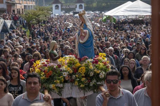 Final de semana de Caravaggio reúne 70 mil fiéis em Canela Diego Santos/Estrategiacom/Divulgação