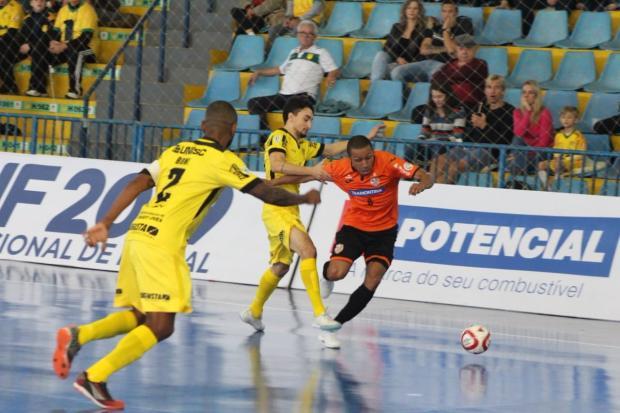 ACBF empata com a Assoeva e continua como única invicta da Liga Nacional de Futsal Vinicius Pizetti / Divulgação/Divulgação