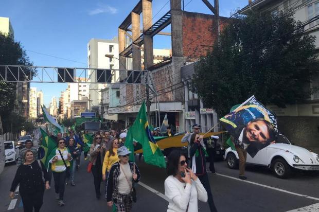 Apoio a medidas do Governo Bolsonaro pauta ato em Caxias André Tajes/Agência RBS