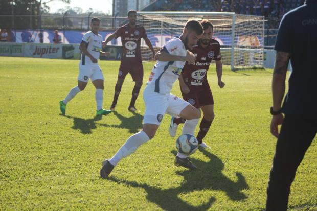 Caxias perde para o Cianorte e cai para a segunda colocação do Grupo A-16 Diego Menegon / CianorteFC/Divulgação/CianorteFC/Divulgação