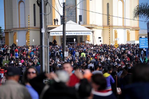 Cerca de 130 mil fiéis passaram pelo Santuário de Caravaggio, em Farroupilha Antonio Valiente/Agencia RBS