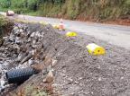 Após ceder devido à chuva, estrada que liga Fazenda Souza e Santa Lúcia do Piaí tem trânsito liberado Luciane Modena/Divulgação