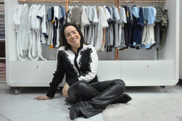 """""""Ser ousado e inovador é fundamental"""", diz empresária que vende moda infantil a 20 Estados Anselmo Cunha/Agência RBS"""
