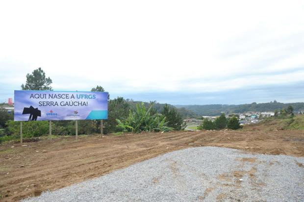Projeto estabelece prazo de 10 anos para início de atividades da UFRGS em Farroupilha Lucas Amorelli/Agencia RBS
