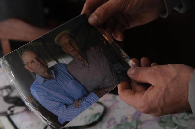 Despedida do Nonno comove São Francisco de Paula Antonio Valiente/Agencia RBS