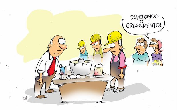 Iotti: e o crescimento da economia? Iotti / Agência RBS/Agência RBS
