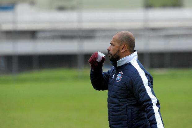 """""""É um jogo decisivo"""", resume Pingo sobre a partida do Caxias diante do Tubarão, no domingo Lucas Amorelli/Agencia RBS"""