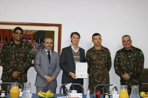 Exército ganha certificado por manutenção de viaturas em Caxias do Sul 3º GAAAe/Divulgação