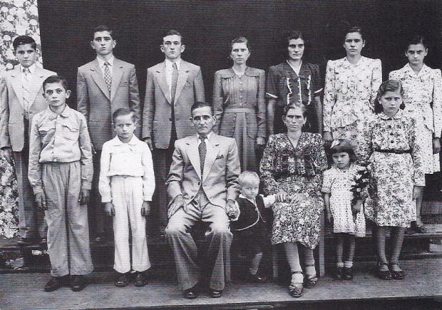 Encontro da família Conte em Mato Perso Acervo de família / divulgação/divulgação