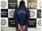 Polícia Civil indicia homem de 33 anos por assassinato no bairro Serrano, em Caxias do Sul Polícia Civil / Divulgação/Divulgação