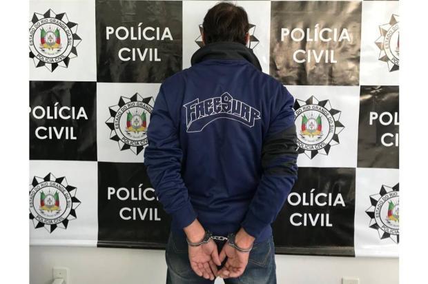Preso suspeito de matar homem por desavença sobre estábulo em Caxias do Sul Polícia Civil / Divulgação/Divulgação