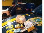 Motorista de aplicativo é flagrado com drogas e habilitação vencida em Caxias do Sul Polícia Rodoviária Federal / Divulgação/Divulgação