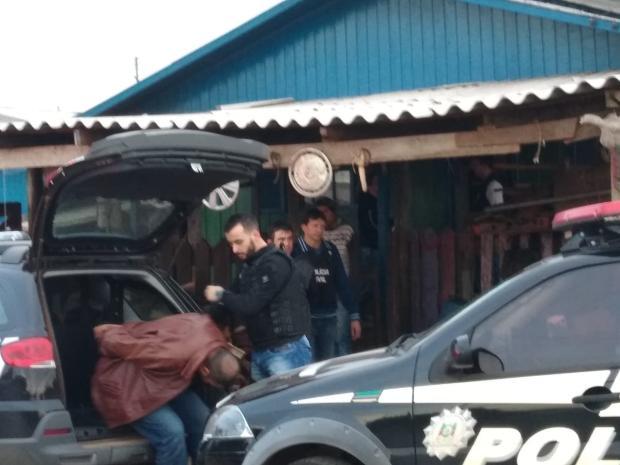 Polícia Civil prende em Vacaria suspeito de ser autor do disparo que matou policial militar em Porto Xavier Polícia Civil  / Divulgação /Divulgação