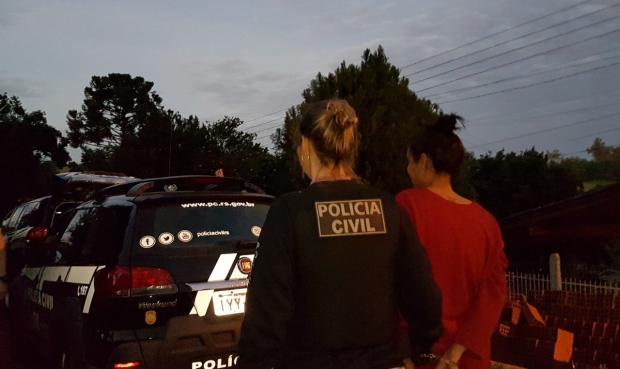 Três pessoas são presas na Serra na operação Dia D contra roubos no RS Michel Fontana  / Polícia Civil /Polícia Civil