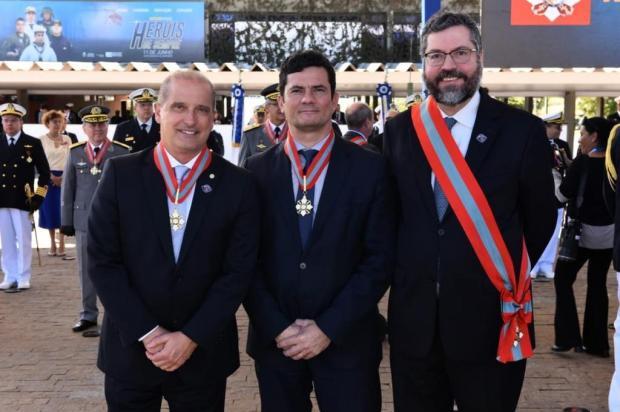 Para Onyx Lorenzoni, ministro da Justiça, Sergio Moro, é um herói Facebook/Reprodução