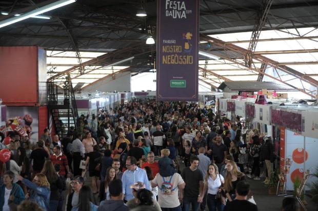 A reação de vereadores à Festa da Uva em 2021 Lucas Amorelli/Agencia RBS