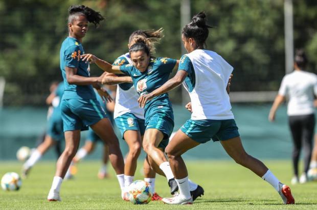 Intervalo: Jogo desta quinta é um grande teste para o esquema muito ofensivo da Seleção Rener Pinheiro/MoWA Press