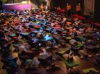 Encontro Yoga pela Paz teve sucesso de público em Caxias Candice Giazzon/Divulgação