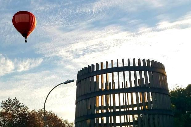 Testes para Festival de Balonismo são realizados em Bento Gonçalves Adriana Ariotti/Agência RBS
