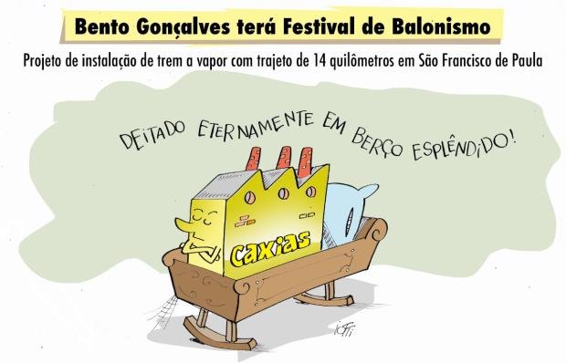 Iotti: Bento Gonçalves terá Festival de Balonismo Iotti/