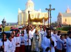Em Farroupilha, fiéis celebram Corpus Christi no Santuário de Caravaggio Leandro Ávila/Santuário de Caravaggio