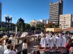 Celebração de Corpus Christi, em Caxias do Sul, reúne milhares no Centro Milena Schafer / agência RBS/agência RBS