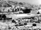 Neve na escadaria do Parque dos Macaquinhos em 1965 Studio Beux / Arquivo Histórico Municipal João Spadari Adami, divulgação/Arquivo Histórico Municipal João Spadari Adami, divulgação