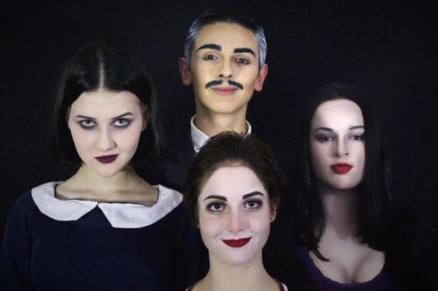 """Grupo Animato mostra a peça """"A Família Addams"""" em Caxias Chiara Baptista/Divulgação"""