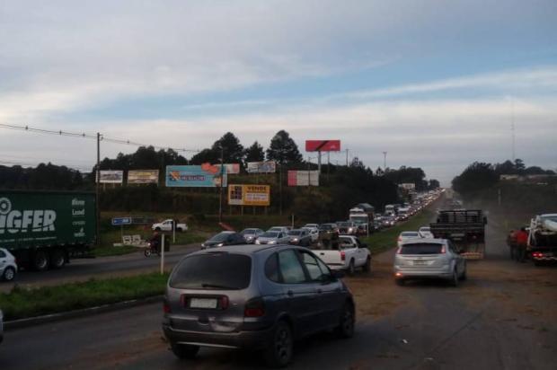 Trânsito é liberado após acidente na ERS-122, entre Farroupilha e Caxias do Sul Divulgação / Grupo Rodoviário de Farroupilha/Grupo Rodoviário de Farroupilha