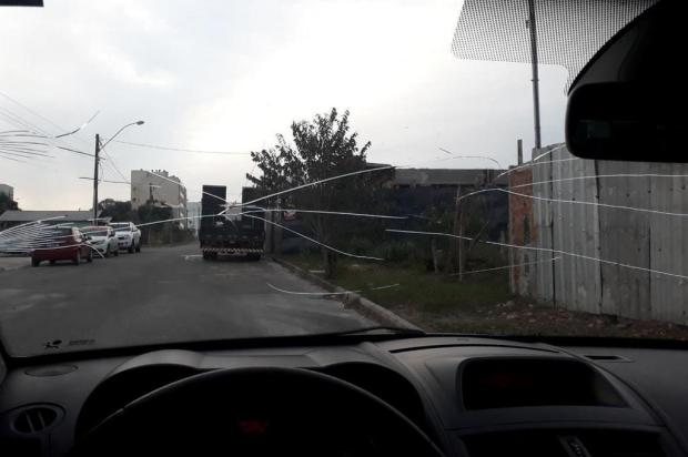 """Motorista que arremessou pedra contra casa de passageira em Caxias se defende: """"foi ação e reação"""" Arquivo pessoal/divulgação"""