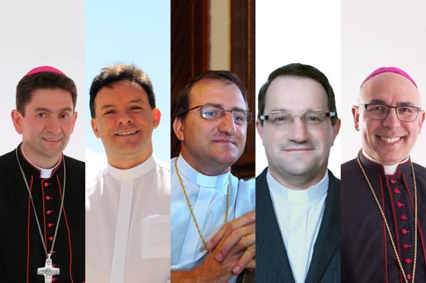 VOTE: quem você acha que pode ser o novo bispo de Caxias do Sul? Montagem sobre fotos de divulgação/