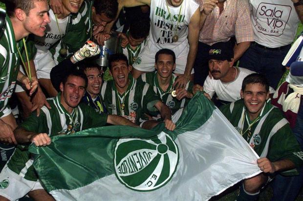 Conquista histórica: um título que mudou a carreira dos jogadores do Juventude Paulo Franken/Agencia RBS